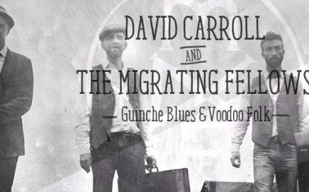 David Carroll & The Migrating Fellows  –  Samedi 22 Octobre